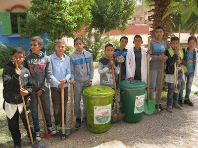 انطلاق أسبوع الانتاج المشترك للنظافة بقلعة السراغنة