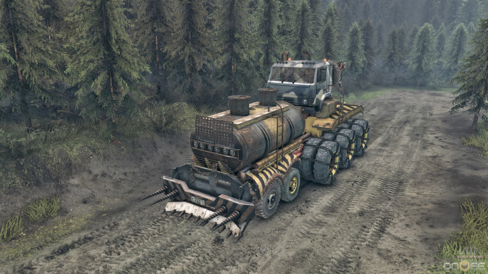 Game PC Spintires