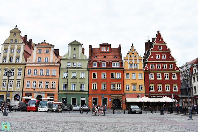 Plac Solny en Wroclaw, Polonia