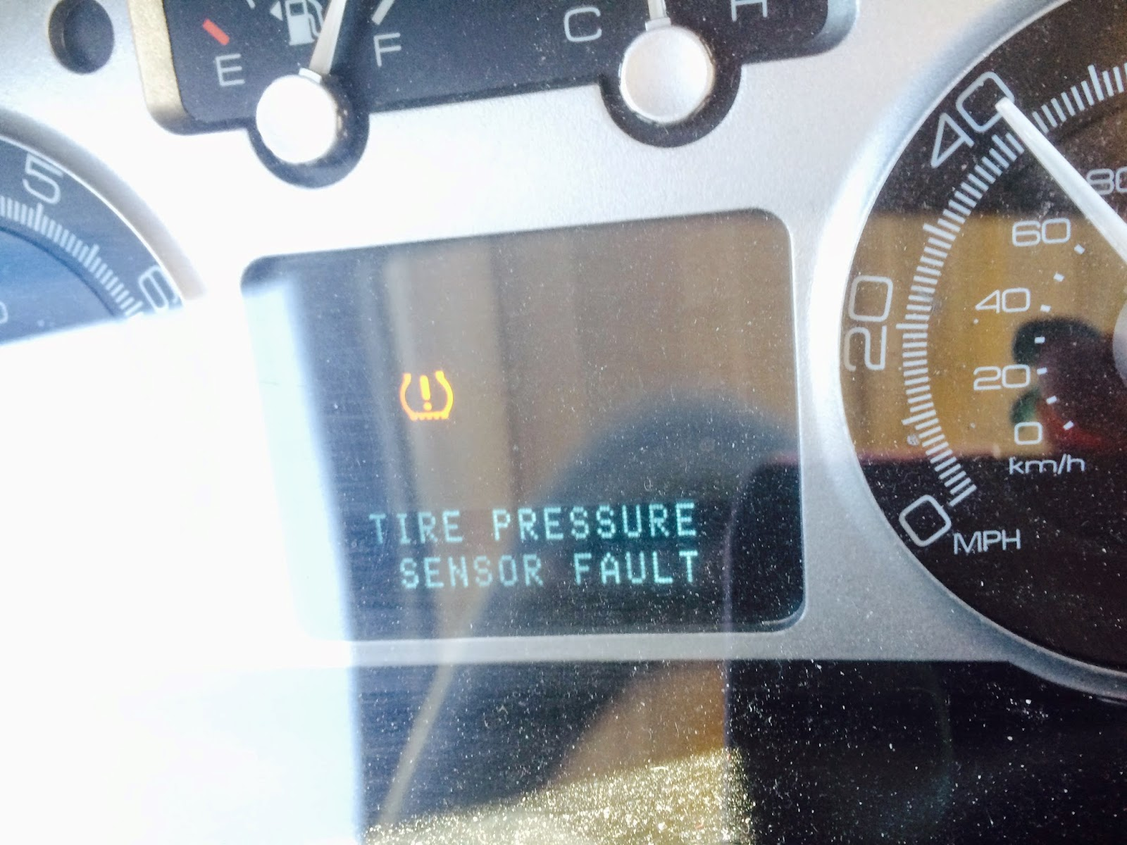What Does Tpms Mean >> Ford tire pressure sensor fault