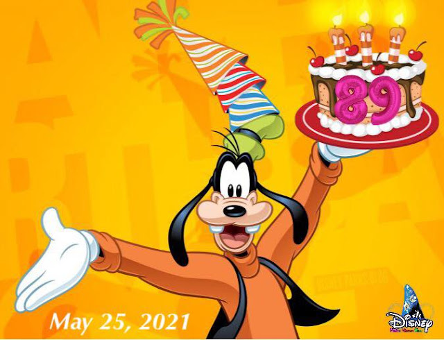 Happy 85th Birthday to Goofy