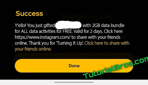 HOW TO GET FREE MTN VALENTINES 2GB DATA