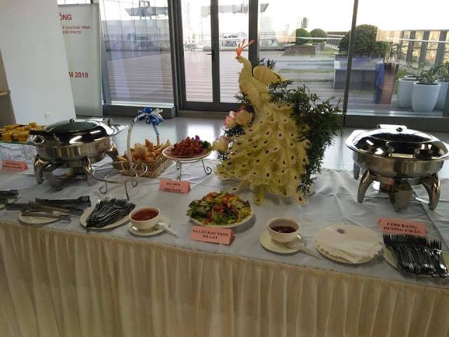 đặt tiệc buffet lưu động tại Hà Nội