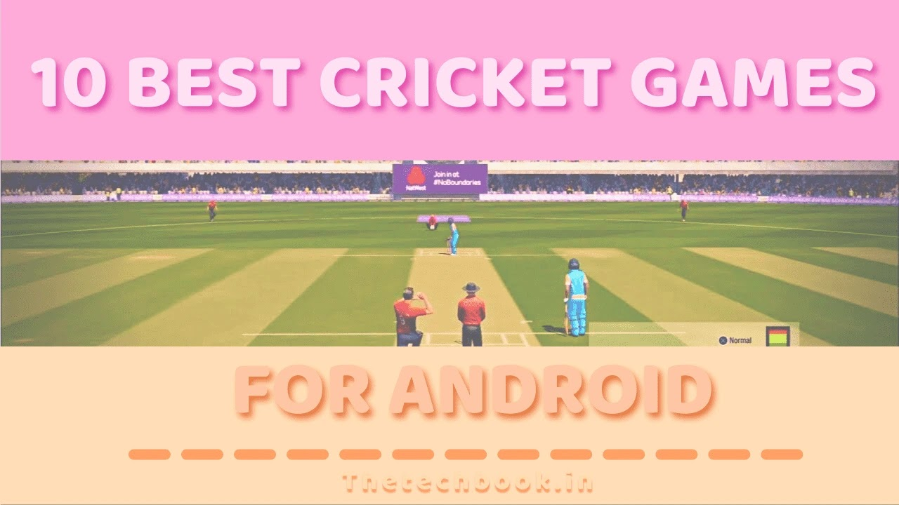 Top 10 best cricket games for Android.