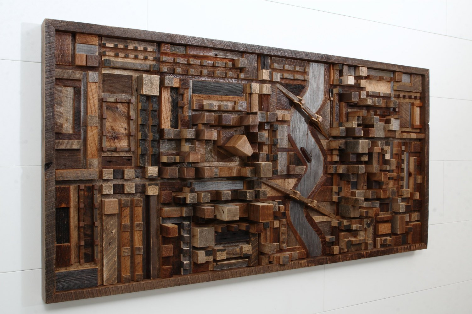 Wood Wall Art: Home Decor