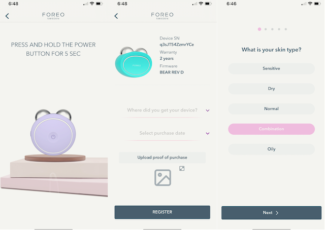 Foreo Device Info