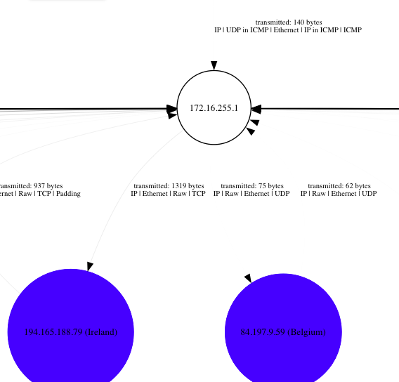 PcapViz - Visualize Network Topologies and Collect Graph