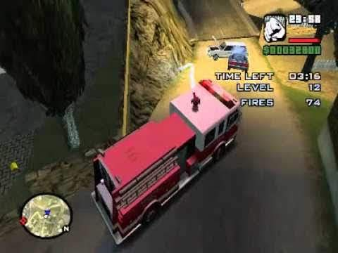 Firefighter Mission 2 (GTA SA Master Save Game)