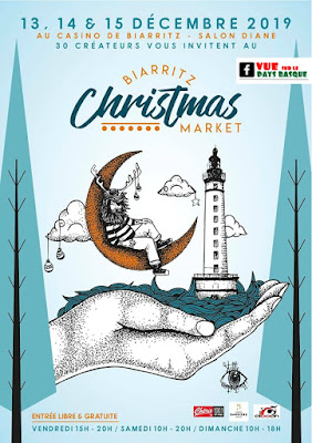 Biarritz christmas market 2019