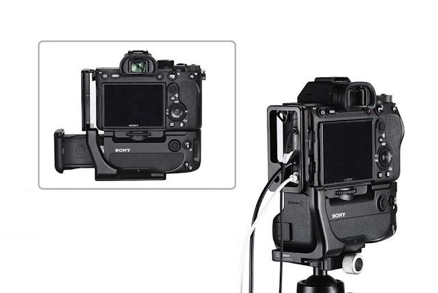 Sunwayfoto PSL-a7RIVG on Fujifilm a7RIV w/Grip details