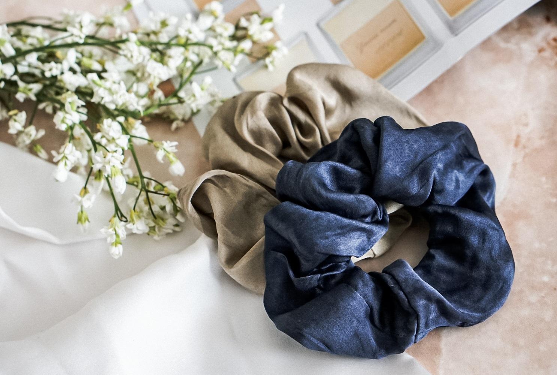czepki jedwabne ALMANIA  jedwabne akcesoria silk 100% scrunchie