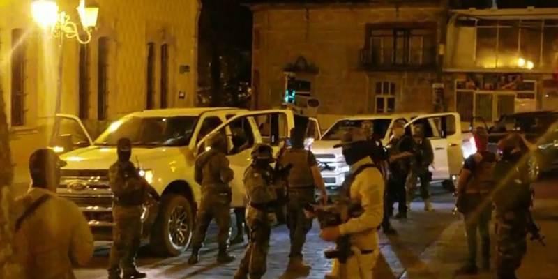 Aseguran Trocas del CJNG que aparecieron alardeando llenas de Sicarios en vídeos en Zacatecas