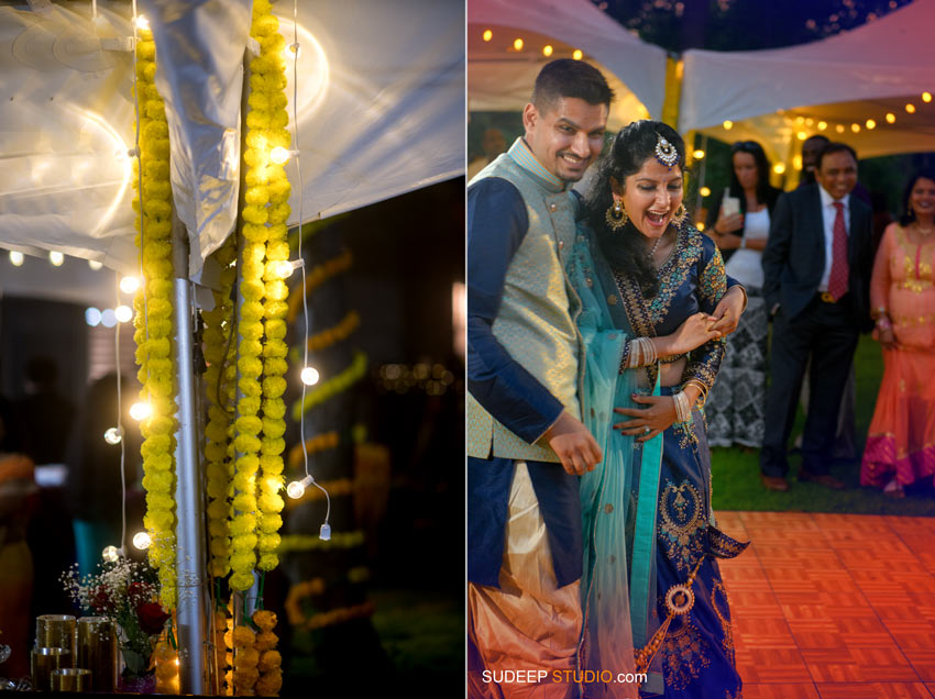 South Asian Indian Wedding Photography Outdoor Wedding Reception Michigan by SudeepStudio.com Ann Arbor Indian Wedding Photographer