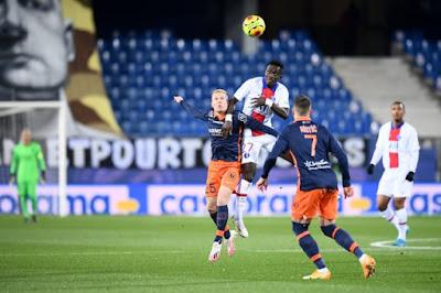 ملخص واهداف مباراة باريس سان جيرمان ومونبلييه (3-1) الدوري الفرنسي