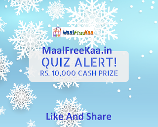 Quiz Time Win Rs 10000