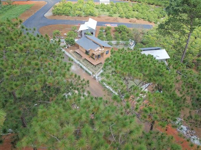 Ngôi nhà Tropicana mộc mạc, điểm đến mới của những du khách yêu thiên nhiên tại thành phố Bảo Lộc.