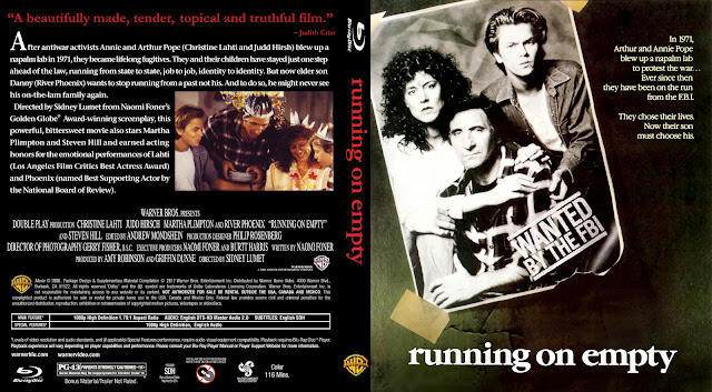Running On Empty Bluray Cover