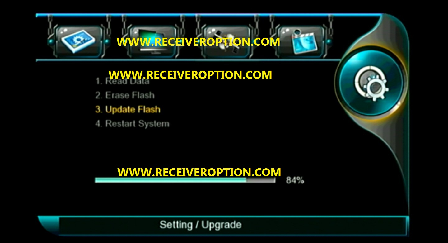 HOW TO UPGRADE NEW SOFTWARE IN ALL MULTI MEDIA 1506G HD