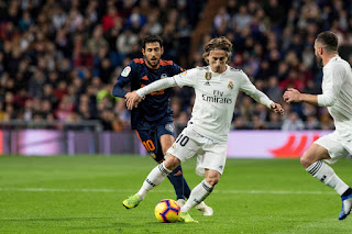Luca Modric wins Ballon d'Or 2018 award ends the domination of Cristiano Ronaldo and Messi