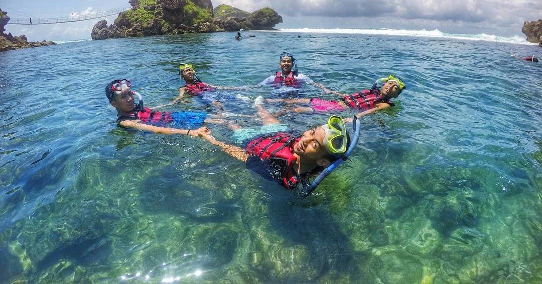 Pantai Nglambor Jogja Harga Tiket Masuk Penginapan Dan Rute Alamat Lokasi Mari Liburan Yuk
