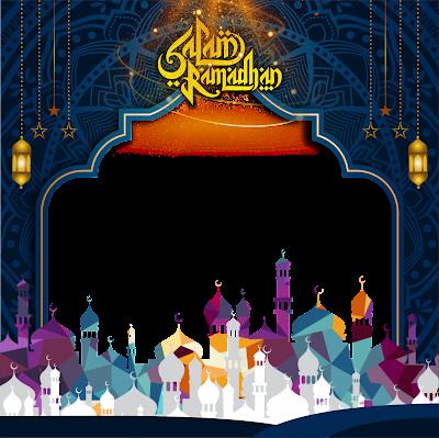 Template Twibbon Ramadhan PNG