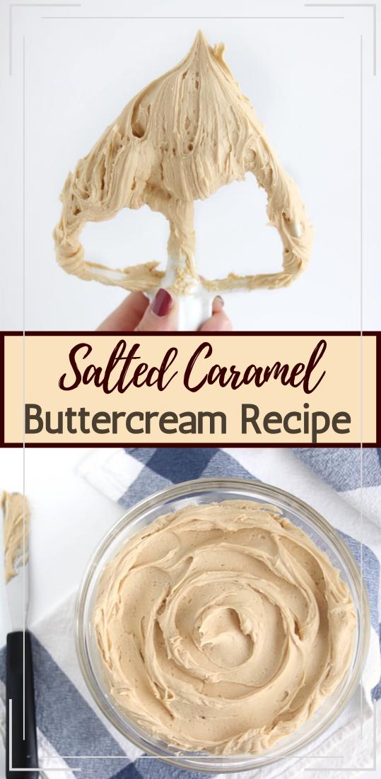 Salted Caramel Buttercream Recipe #vegan #vegetarian #soup #breakfast #lunch