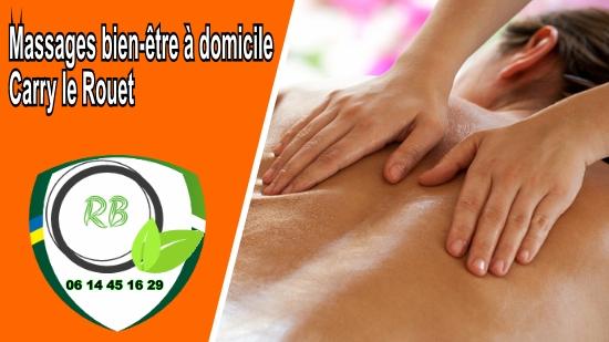 Massages bien-être à domicile Carry le Rouet;
