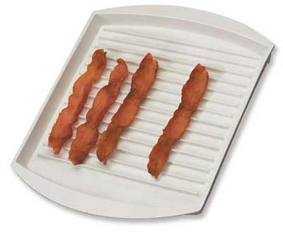 Bacon Powder Gallery Microwave Tray