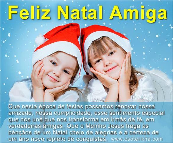 Mensagem de Natal para Amigos e Whatsapp Facebook