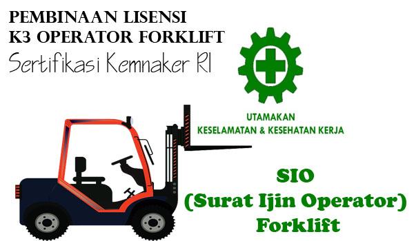 Lisensi dan Sertifikasi K3 Operator Forklift