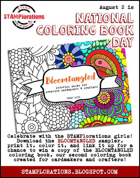 Stamplorations Blog Bloomtangled National Coloring