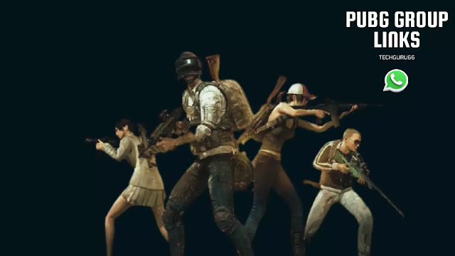 This image showing PUBG Whatsapp group
