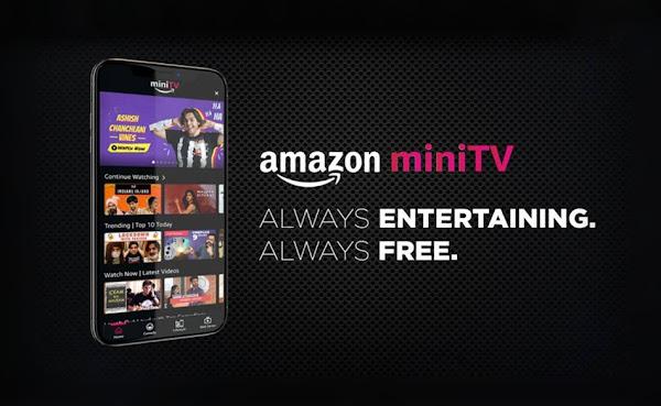 Amazon lança outro serviço gratuito de streaming de vídeo chamado MiniTV