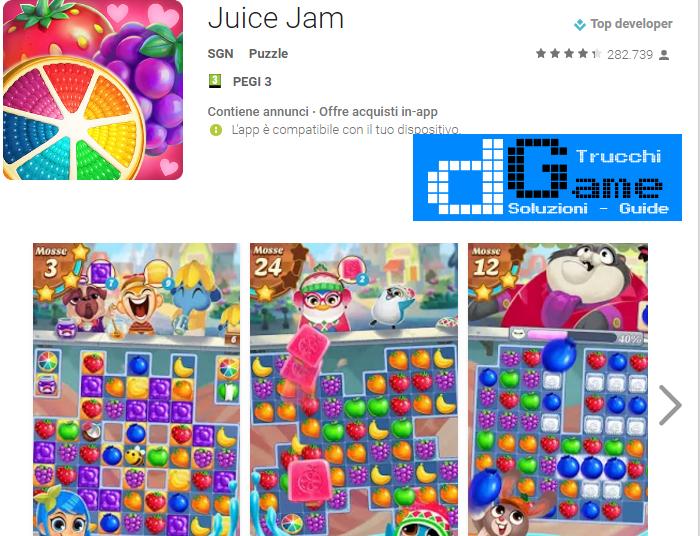 Trucchi Juice Jam Mod Apk Android v1.27.13