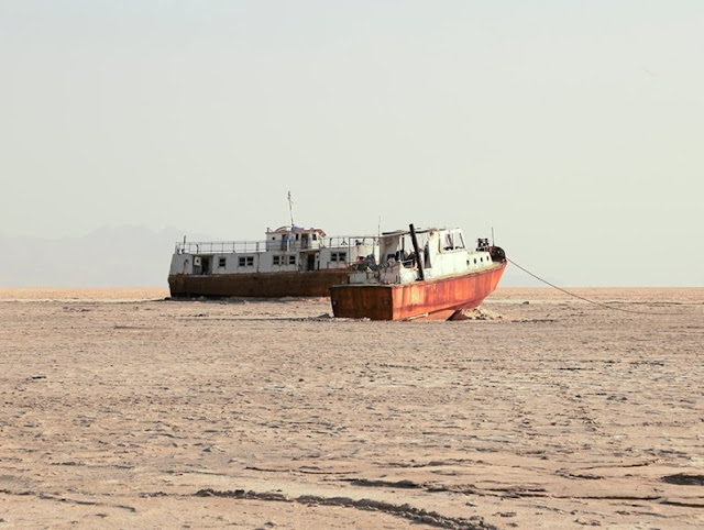 Climate change threatens Iran's already volatile Urmia Lake