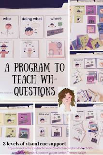 A Wh question Program on TPT