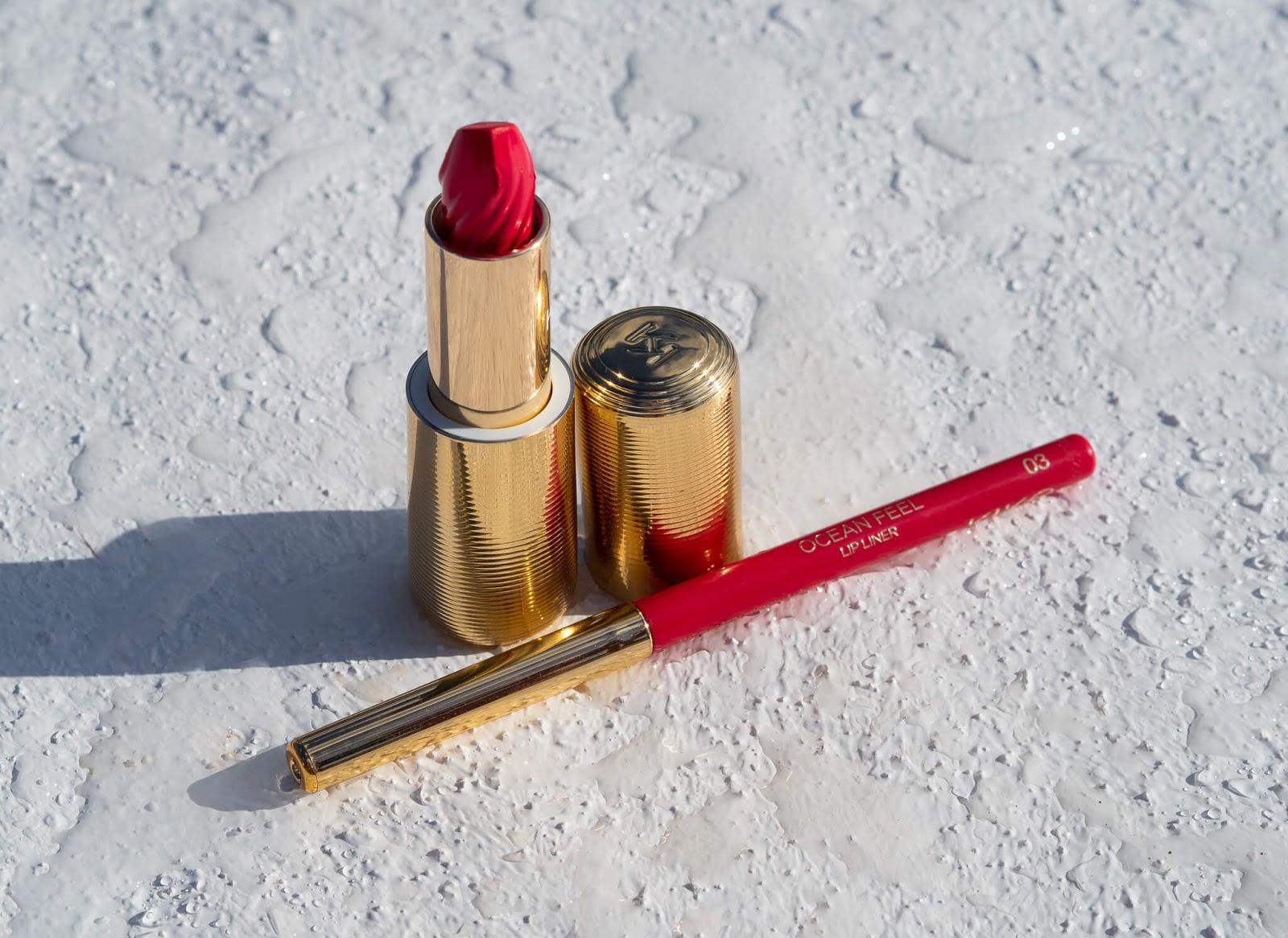 Ocean Feel 03 Lipstick & Lipliner