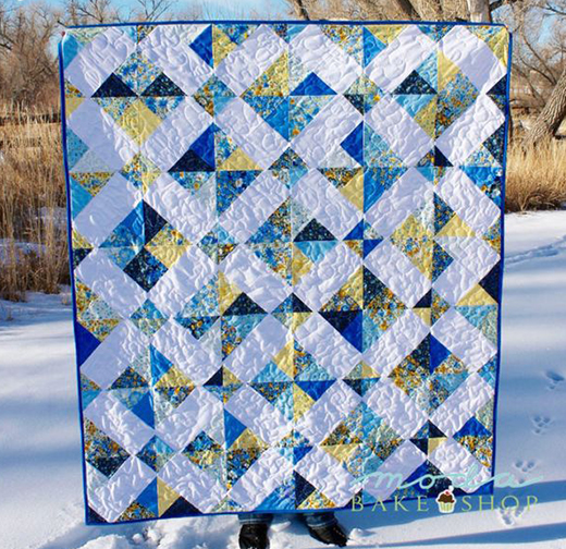 Crystal Charm Summer Breeze Quilt Free Tutorial