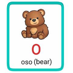 o- alphabet in spanish