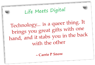 quote on technology as gift
