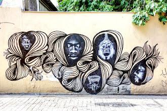 Sunday Street Art : Roldie et Lady Bug  - passage du Moulin des Prés - Paris 13