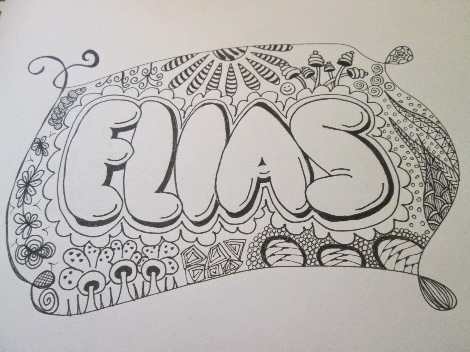 lær tegne graffiti bogstaver
