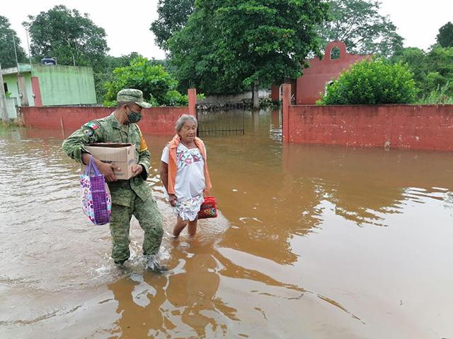 Ejército Mexicano aplica el Plan DN-III-E en el municipio de Tekax