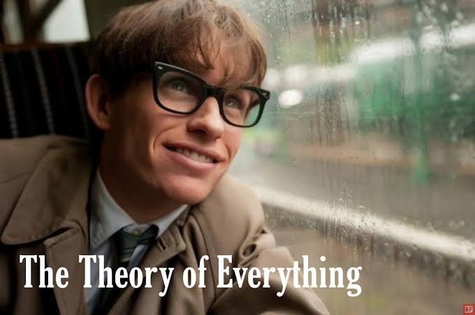 The Theory of Everything: A heartbreaking love story of Stephen Hawking.