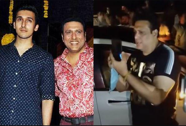 actor govinda reaction on his son yashvardan car accident