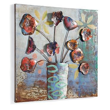 http://www.grandinroad.com/dimensional-metal-still-life/wall-art/indoor-wall-art/743349