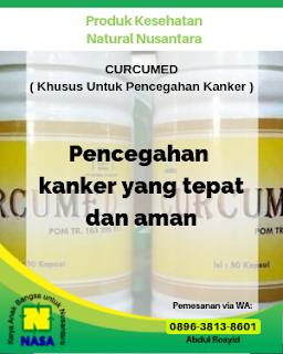 Curcumed Pencegah Kanker Tumor, Kista 50 Kapsul