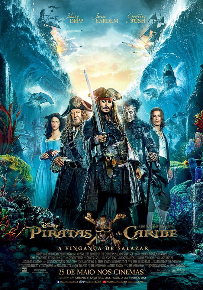 [Crítica] Piratas do Caribe - A Vingança de Salazar