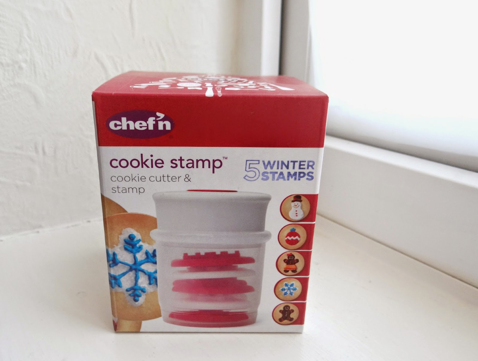 Christmas Baking, Chef'n Winter Cookie Stamp, handmade Christmas Gifts