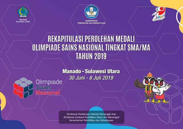 HASIL OSN SMA TINGKAT NASIONAL TAHUN 2019
